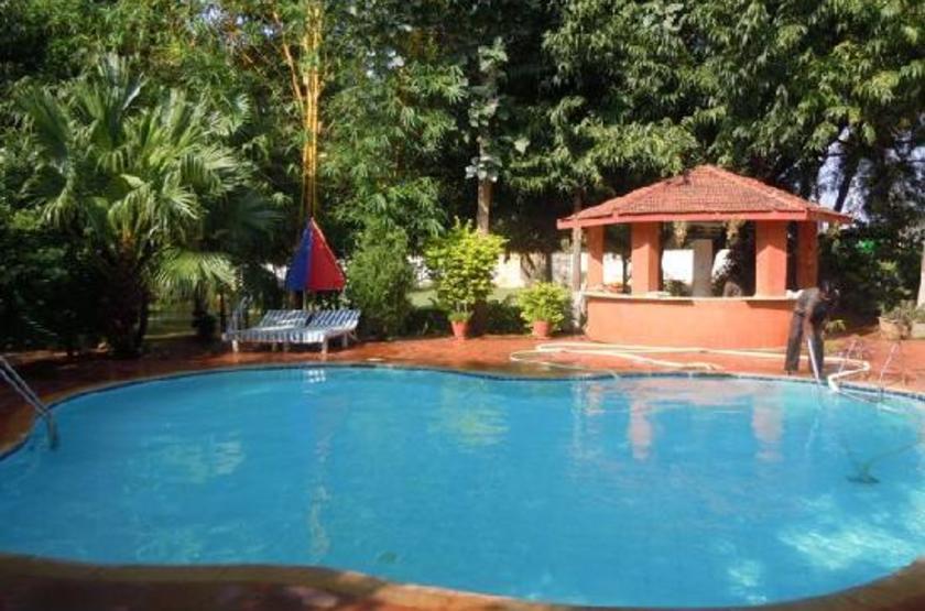 Hotel Badami Court, Inde, piscine