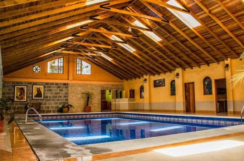 Hacienda Leito, Patate, Equateur, piscine