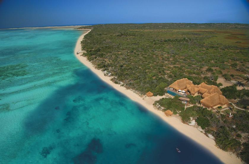 Azura Benguerra Island, Vilancoulos, Mozambique, vue aérienne