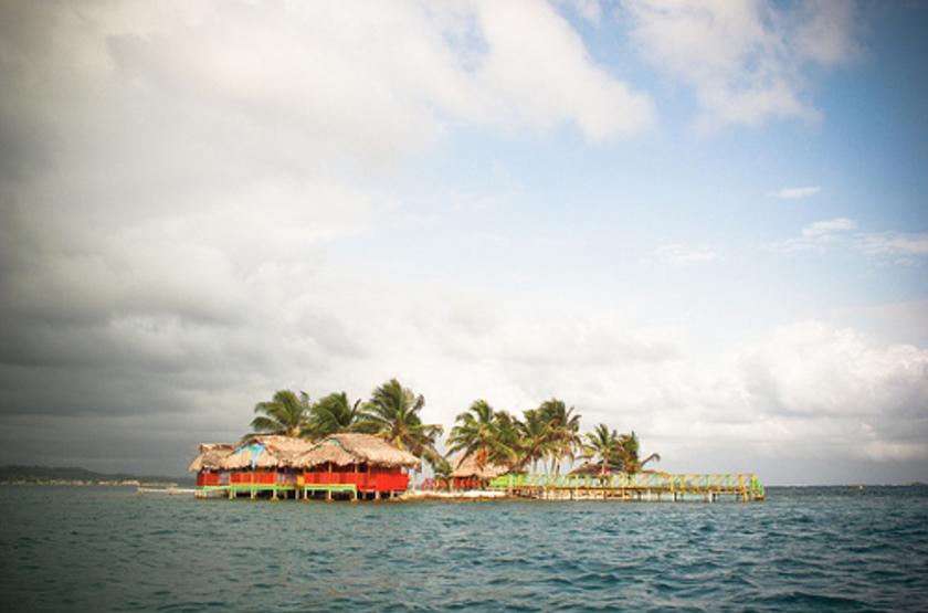Dad Ibe Lodge, San Blas, Panama, emplacement