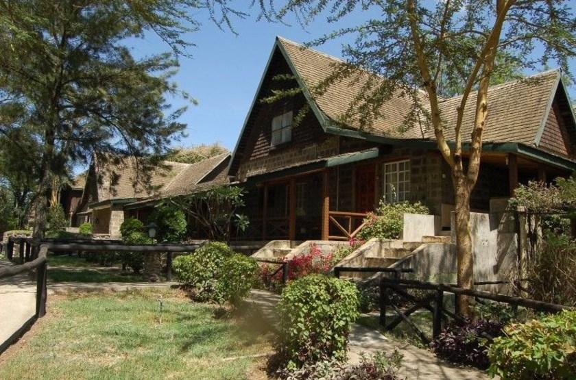 Lake Nakuru Lodge, Kenya, extérieur