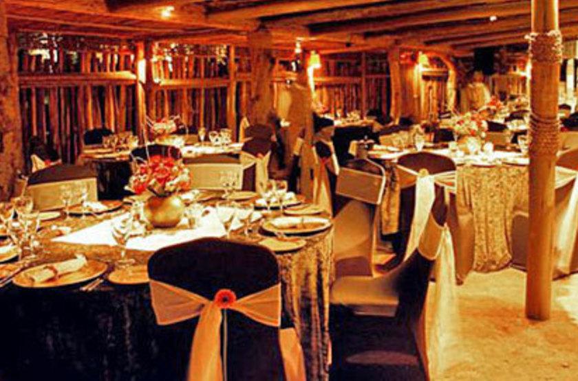 Simunye Zulu Lodge, KwaZulu Natal, Afrique du Sud, restaurant