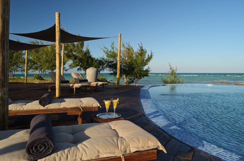 Coral Lodge, Reserve de Varanda, Mozambique, piscine
