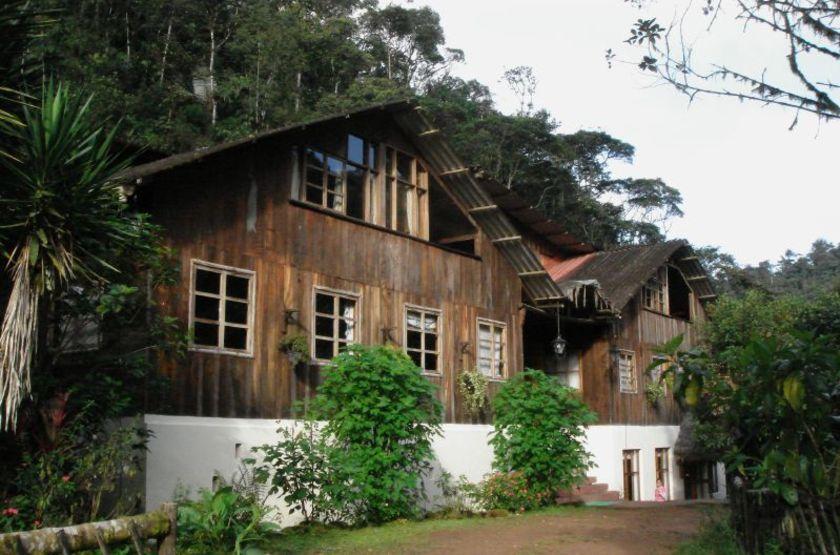 El Septimo Paraiso Lodge, Mindo, Equateur, extérieur