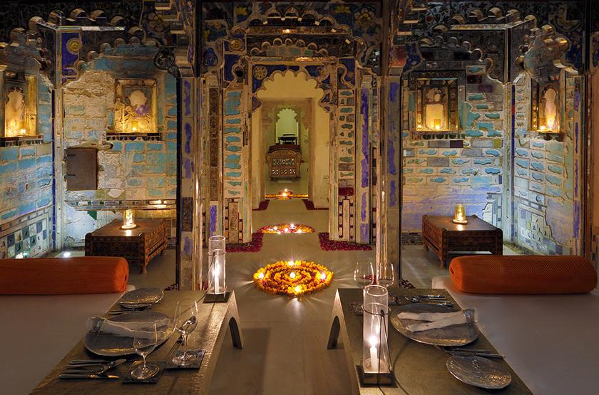 Raas Devigarth, Delwara, Inde, restaurant