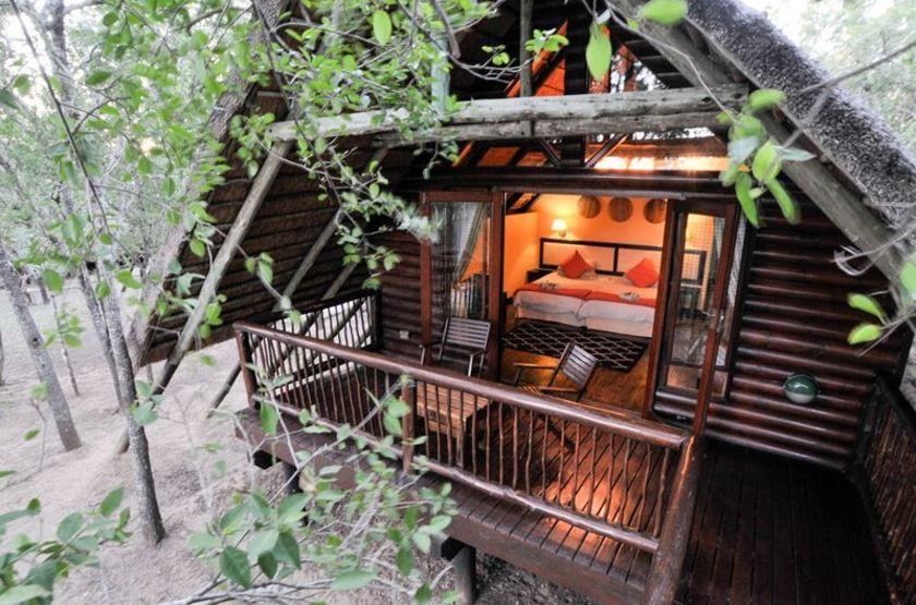 Hluhluwe River Lodge, Afrique du Sud, chalet