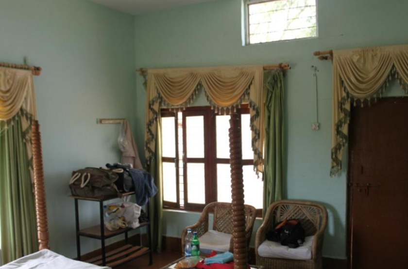 Churna Camp Forest Bungalow, Satpura Reserve, Inde, chambre