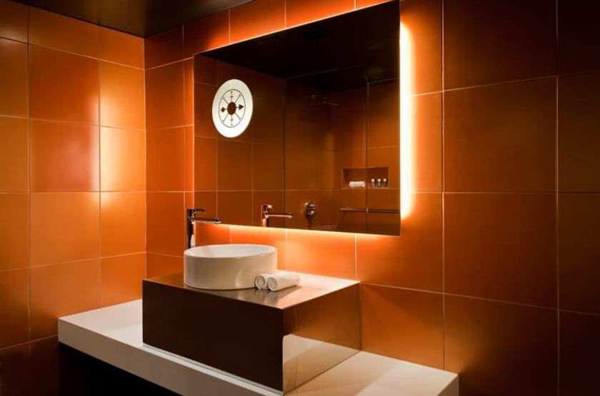 W Nouvelle Orléans, French Quarter, Etats Unis, salle de bains