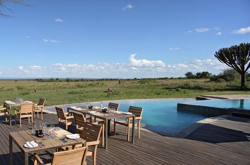 &Beyond Kichwa Tembo, Masai Mara, Kenya, piscine
