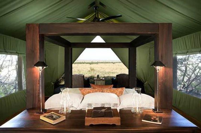 &Beyond Bateleur Camp, Masai Mara, Kenya, chambre
