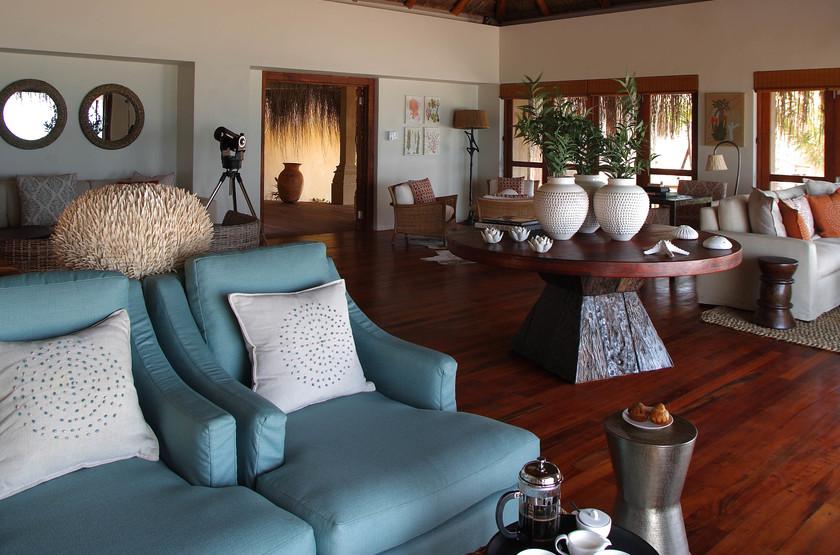 Azura Benguerra Island, Vilancoulos, Mozambique, lounge