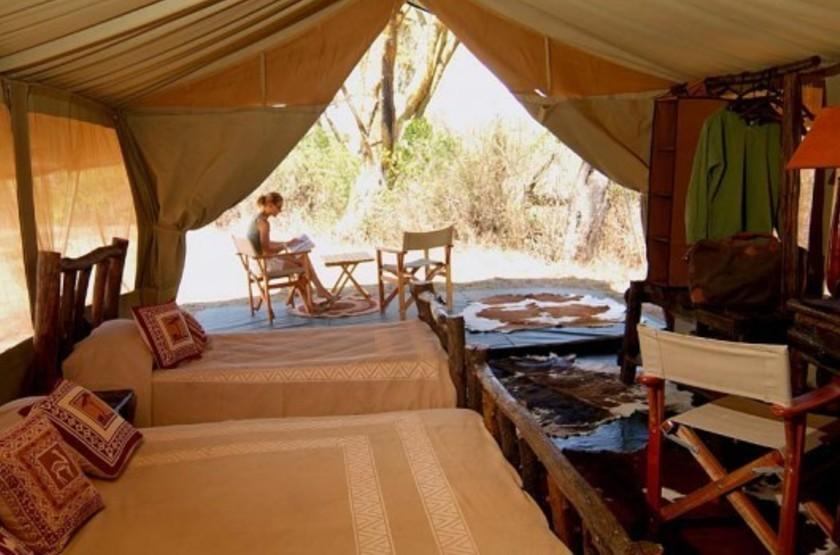 Mara Porini Camp, Ol Kinyu, Masai Mara, Kenya, intérieur