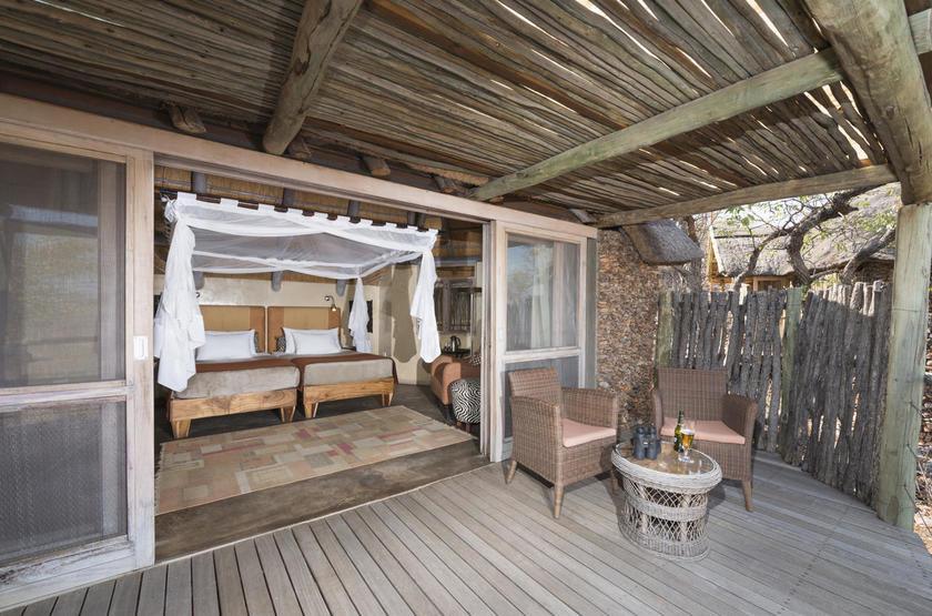 Ongava Lodge, Territoire d'Ongava, Namibie, chambre