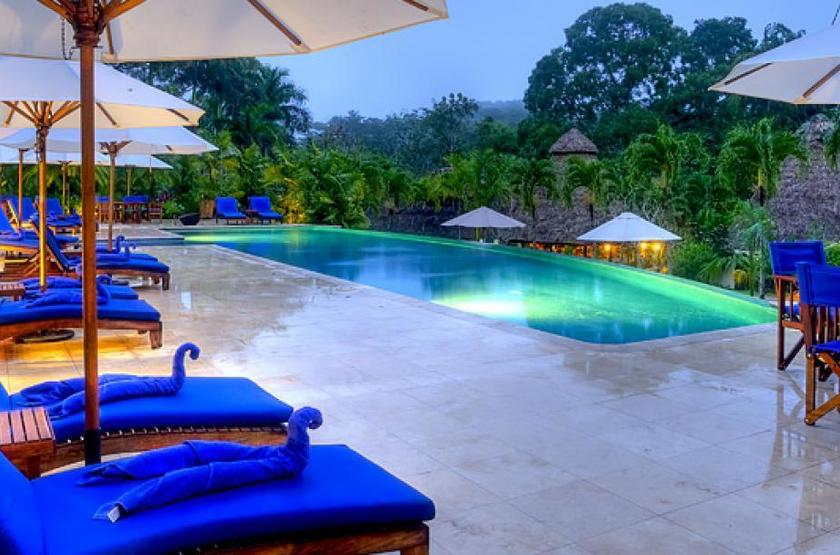 Chaa Creek Lodge, San Ignacio, Belize, piscine