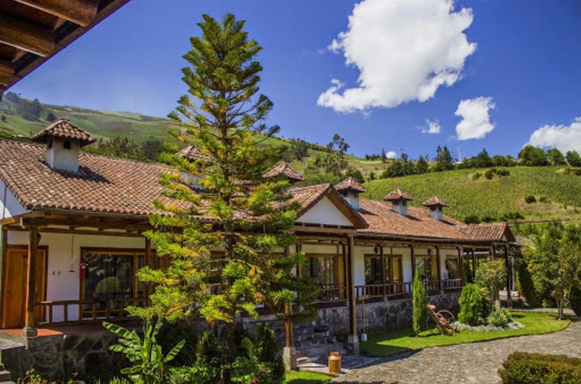Hacienda Leito, Patate, Equateur, extérieur