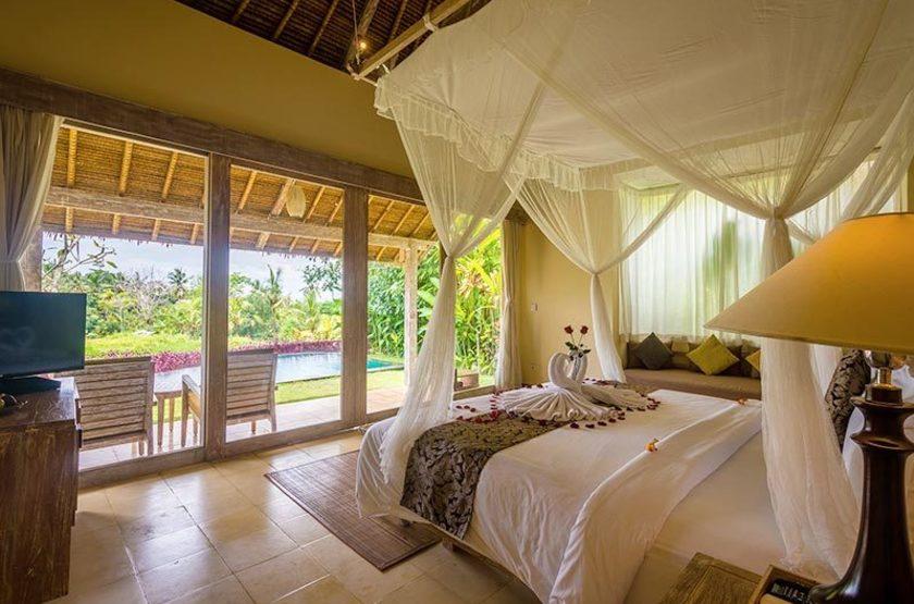 Indonésie - Bali - Vue chambre