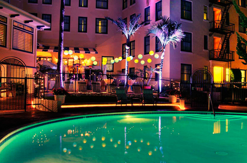 Grande Colonial, La Jolla, Etats unis, piscine