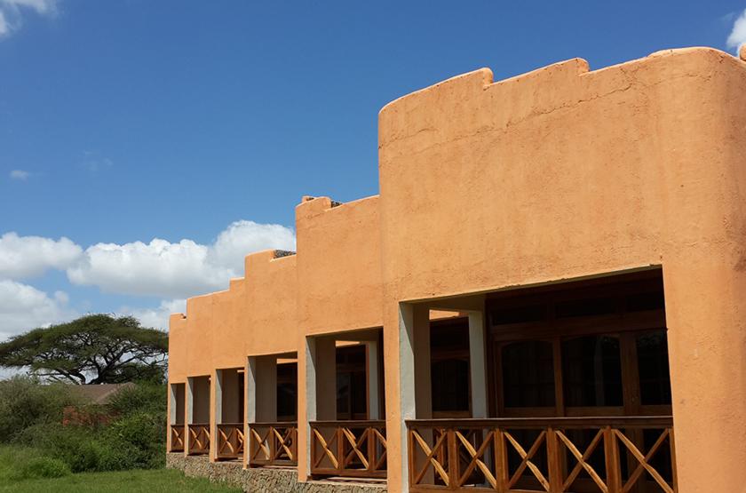 Kilima Safari Camp, Amboseli, Kenya, extérieur chambre lodge