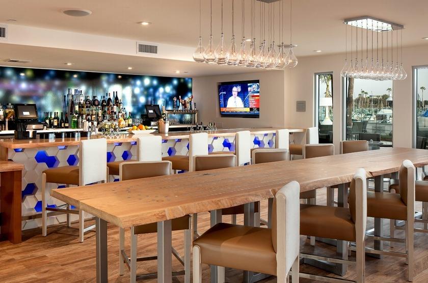 Marina Del Rey, Los Angeles, Etats Unis, bar