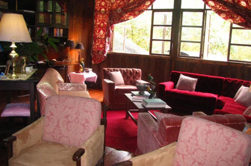 El Septimo Paraiso Lodge, Mindo, Equateur, salon