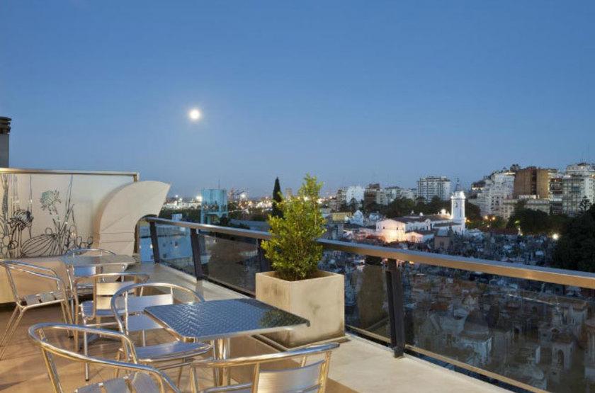 Argentine - Sileo Hotel - Terrasse