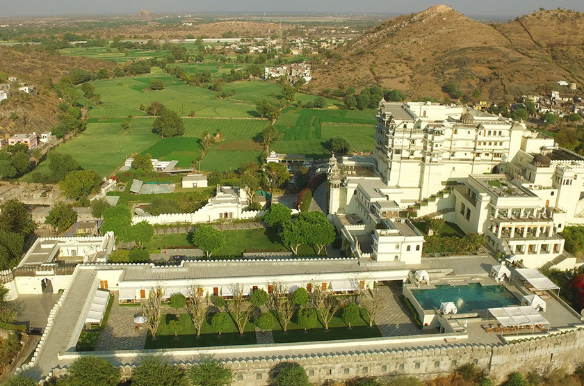 Raas Devigarth, Delwara, Inde, extérieur