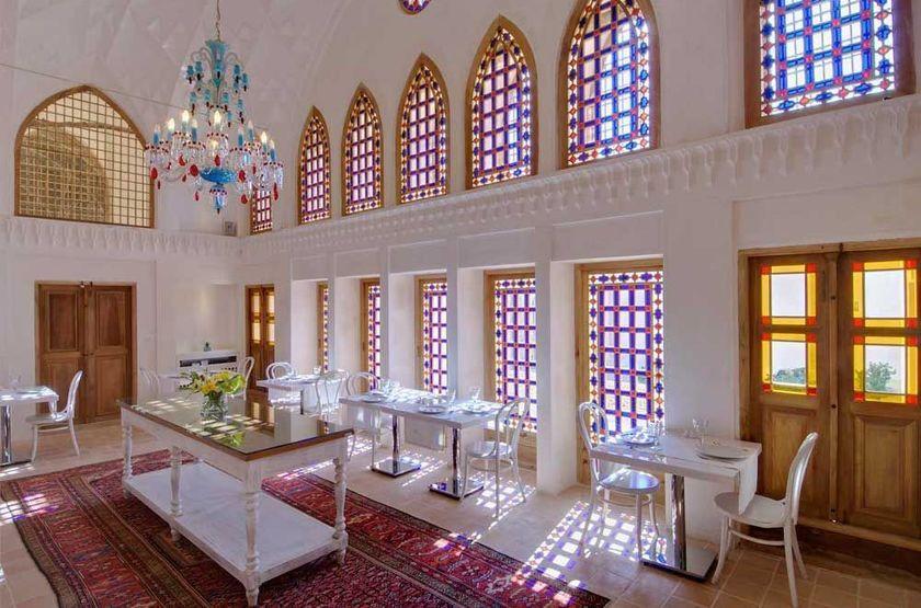 Manouchehri House, Kashan, Iran, restaurant