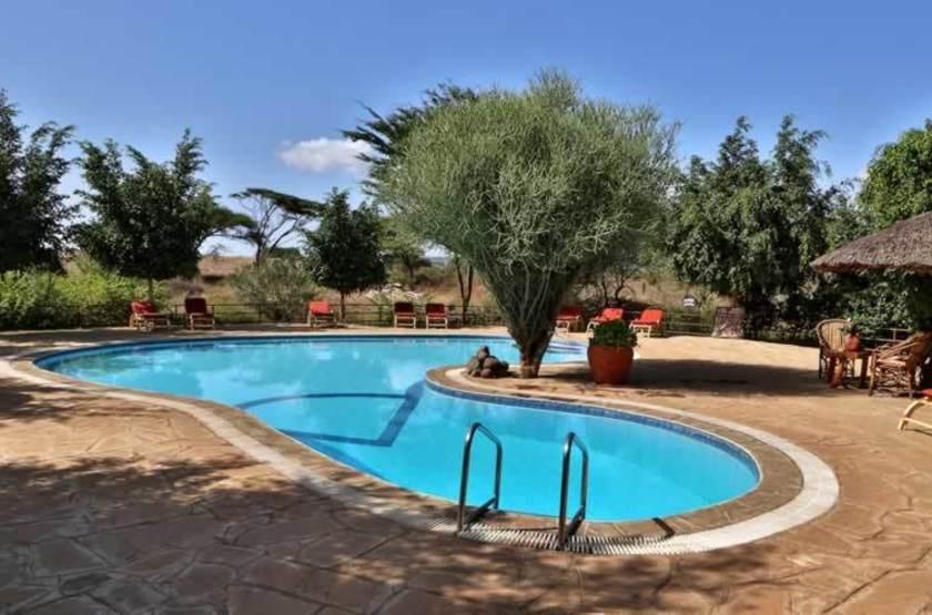 Kibo Safari Camp, Amboseli, Kenya, piscine