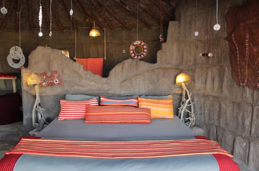 Tanzanie - Maasai Lodge - Chambre