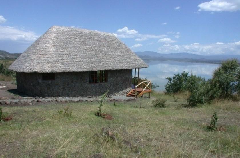Sunbird Lodge, Lac Elementaita, Kenya, chalet