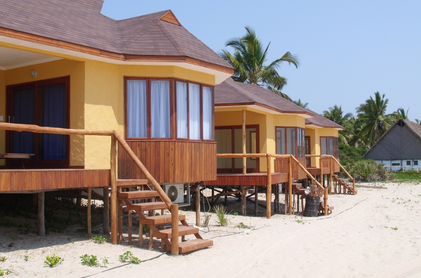 Barra lodge, Inhambane, Mozambique, chalets
