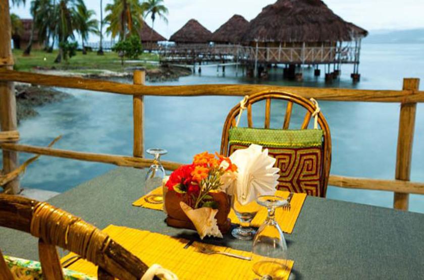 Yandup Island Lodge, Panama, restaurant