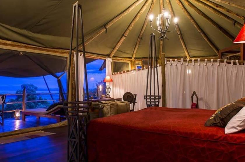 Kilima Camp, Masai Mara, Kenya, tente deluxe