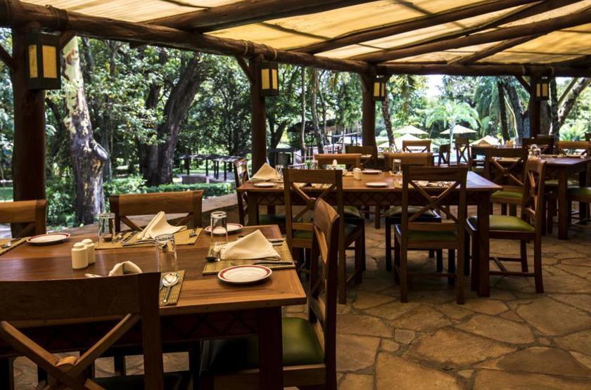 Mara Sarova Game Camp, Masai Mara, Kenya, restaurant