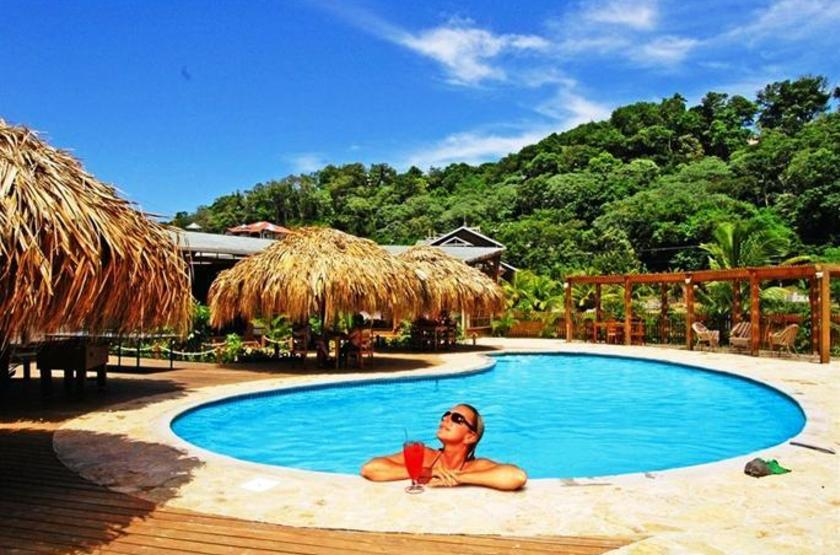 Honduras - Paradise Oceanic Hotel - Piscine