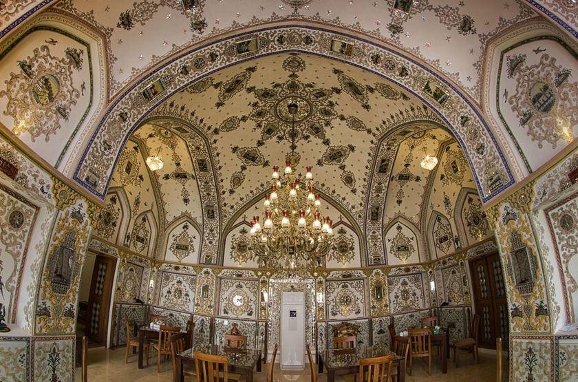 Kianpour Historical House, Ispahan, Iran, restaurant