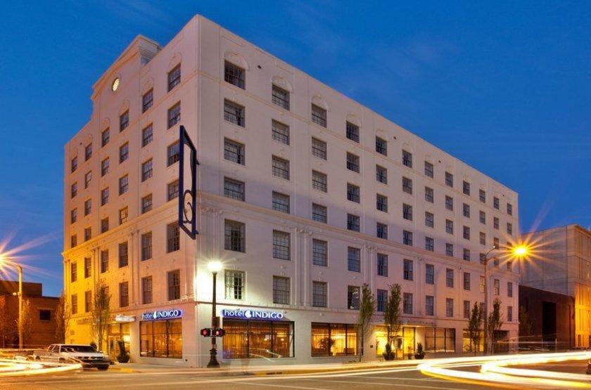 Indigo Hôtel, Baton Rouge, Etats Unis, extérieur