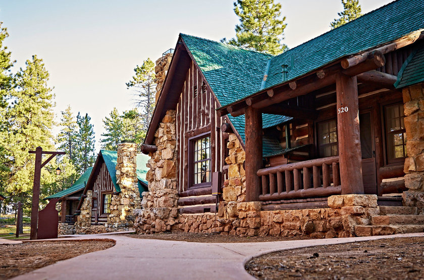 Bryce Canyon Lodge, Bryce Canyon, Etats Unis, extérieur