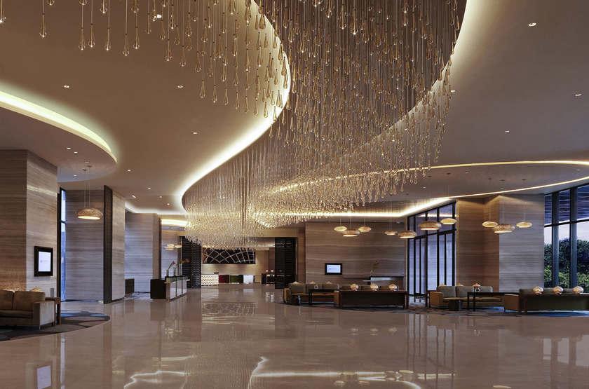 Inde - New Delhi - Pullman Lobby