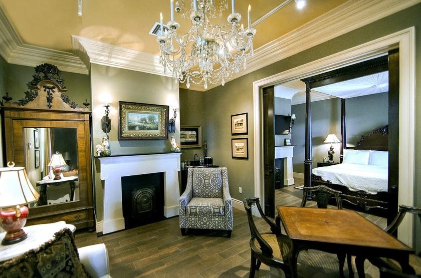 Houmas House Plantation, Louisiane, Etats Unis, junior suite