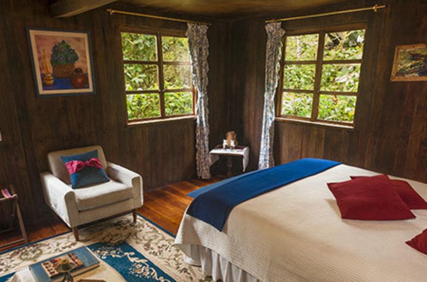 El Septimo Paraiso Lodge, Mindo, Equateur, chambre