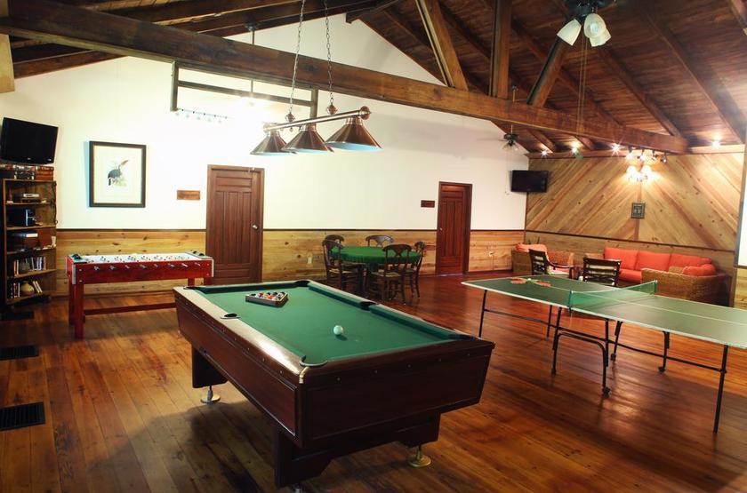 Honduras - Pico Bonito Lodge - Salle de jeux