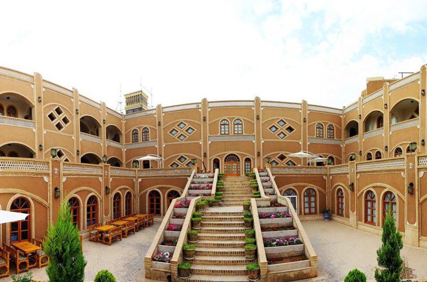 Dad Hotel, Yazd, Iran, extérieur