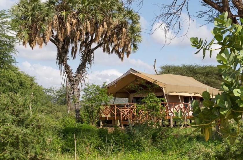 Elephant Bedroom Camp, Samburu, Kenya, extérieur