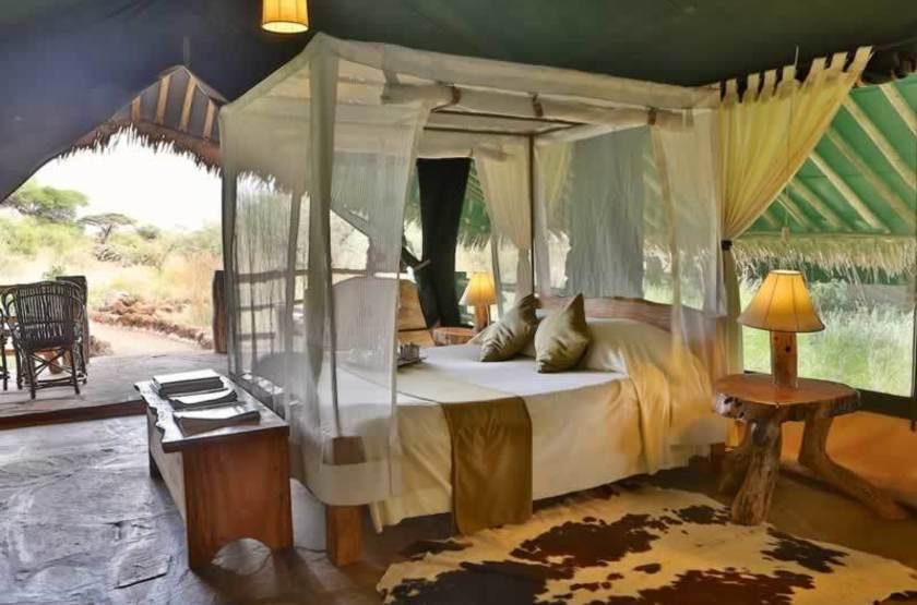 Kibo Safari Camp, Amboseli, Kenya, tente avec terrasse