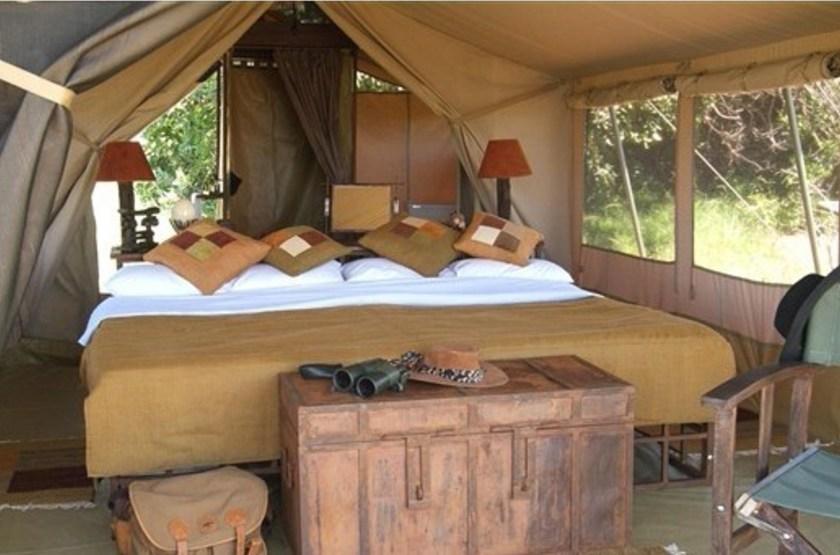 Kilima Camp, Masai Mara, Kenya, chambre