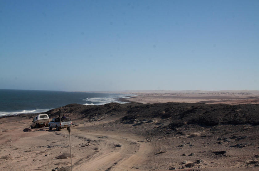 Skeleton Coast Shipwreck Lodge, Namibie, safari en 4x4