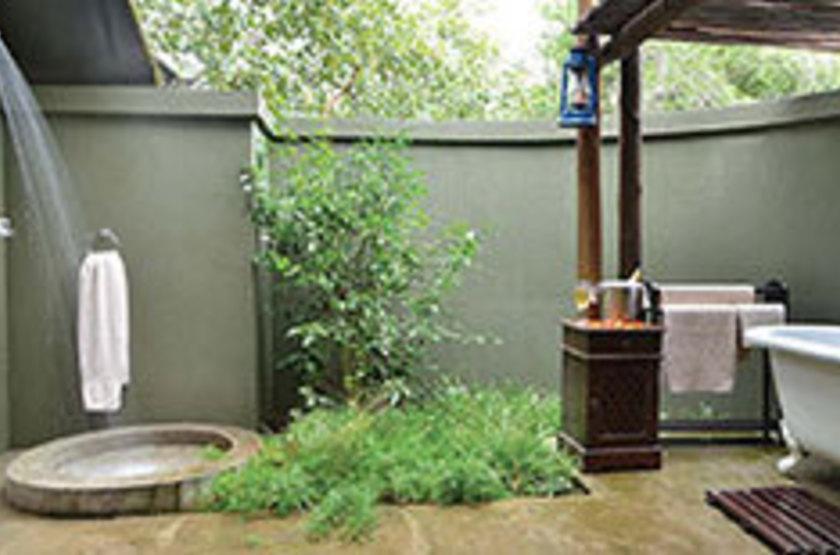Falaza Game Lodge, Afrique du Sud, salle de bains