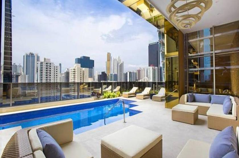 Panama - Global Hotel - Piscine