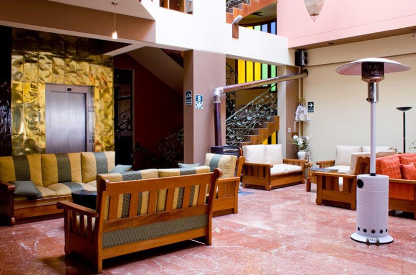 Pérou - Royal Inn - Lobby